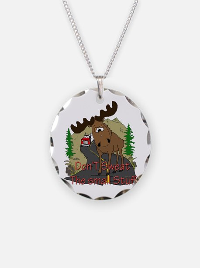 Moose humor Necklace