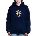 Womens Dcs Dark Hooded Sweatshirt