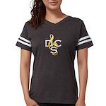 Womens Dcs Football T-Shirt