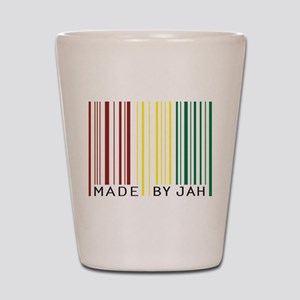 made by jah Shot Glass
