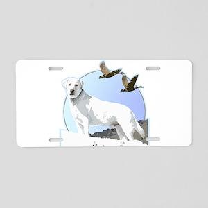 Labradors Aluminum License Plate
