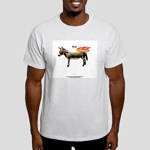 Your Basic 'HotASS' Ash Grey T-Shirt