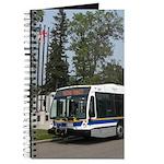 Custom Journal with a Regina Transit bus