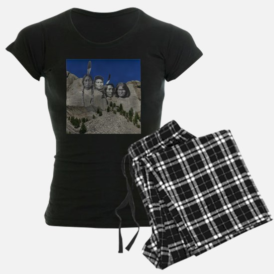 Native Mt. Rushmore Pajamas