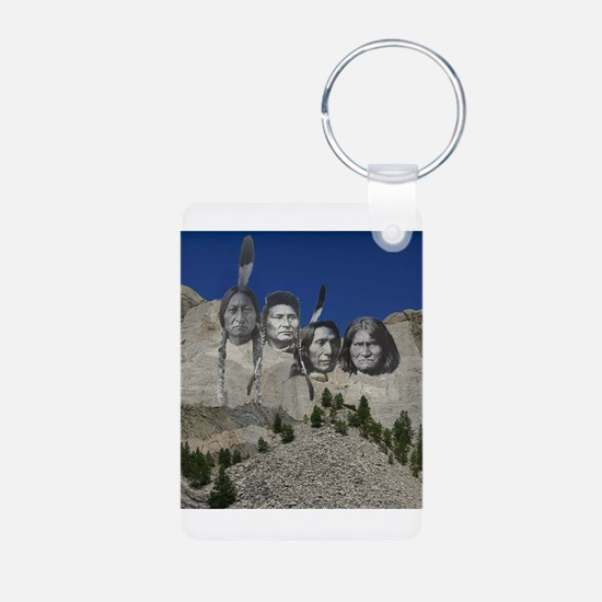 Native Mt. Rushmore Keychains