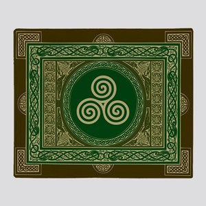 Celtic Triskel Blanket