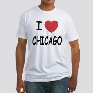 I heart Chicago Fitted T-Shirt
