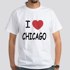 I heart Chicago White T-Shirt