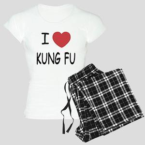 I heart kung fu Women's Light Pajamas