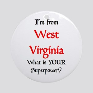 from WV Ornament (Round)