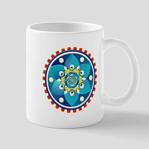 Abstract mechanical object Mugs