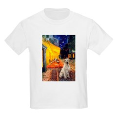 Cafe-Yellow Lab 7 T-Shirt