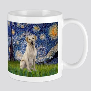 Starry - Yellow Lab 7 Mug