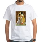 The Kiss-Yellow Lab White T-Shirt