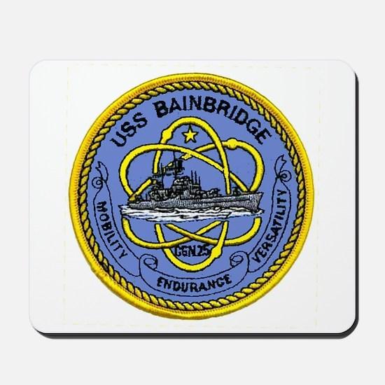 USS Bainbridge CGN 25 Mousepad