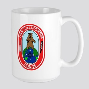 USS California CGN 36 Large Mug