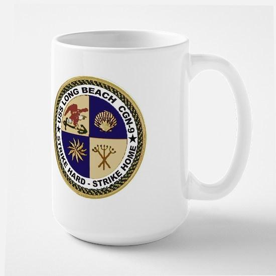 USS Long Beach CGN 9 Large Mug