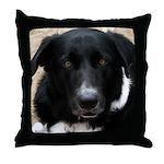 Dog Mind Meld Throw Pillow