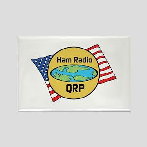Ham Radio QRP Rectangle Magnet