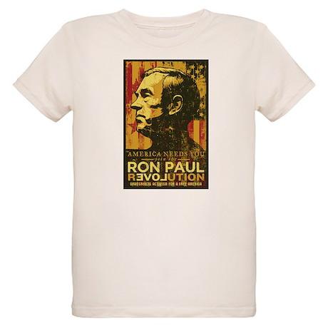 Ron Paul Organic Kids T-Shirt