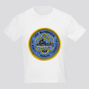 USS Bainbridge CGN 25 Kids T-Shirt