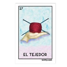 El Tejedor [for guy knitters] Postcards (Package o