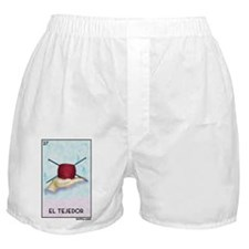 El Tejedor [for guy knitters] Boxer Shorts