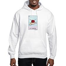 El Tejedor [for guy knitters] Hooded Sweatshirt