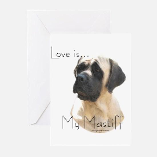 Mastiff 59 Greeting Cards (Pk of 10)