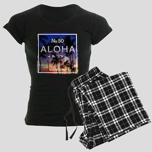 Aloha Hawaii No 50 Hawaiian Sunset Pajamas