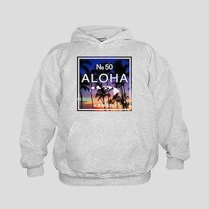 Aloha Hawaii No 50 Hawaiian Sunset Sweatshirt