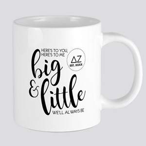 Delta Zeta Big Little 20 oz Ceramic Mega Mug