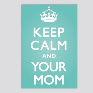 Keep Calm Your Mom Postcards (Package of 8)