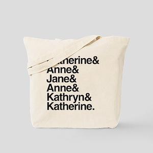 Wives of Henry VIII Tote Bag