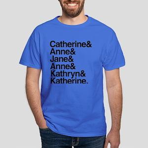Wives of Henry VIII Dark T-Shirt