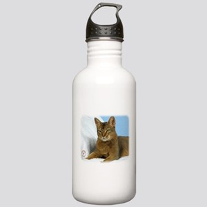 Abyssinian Cat 9Y009D-020 Stainless Water Bottle 1