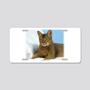 Abyssinian Cat 9Y009D-020 Aluminum License Plate