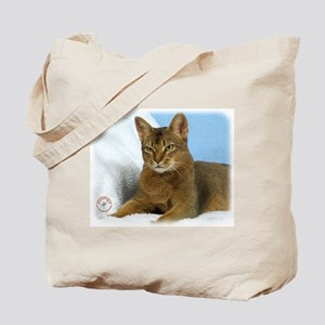 Abyssinian Cat 9Y009D-020 Tote Bag