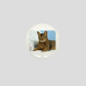 Abyssinian Cat 9Y009D-020 Mini Button