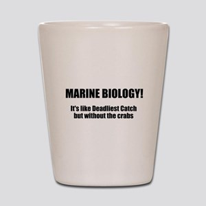 Marine Biology Shot Glass