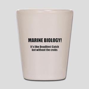 Marine Biology Shot Glass