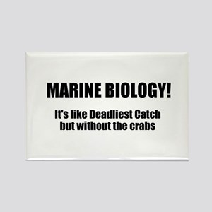 Marine Biology Rectangle Magnet