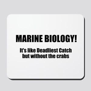 Marine Biology Mousepad