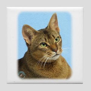 Abyssinian Cat 9Y009D-036 Tile Coaster