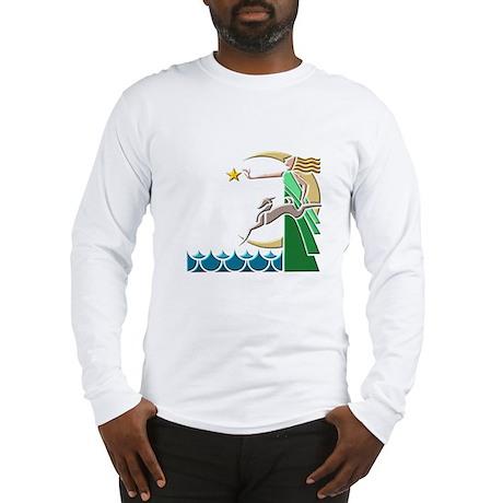 Art Deco Long Sleeve T-Shirt
