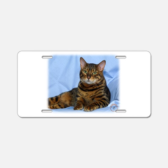 Bengal Cat 9W052D-018 Aluminum License Plate