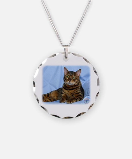Bengal Cat 9W052D-018 Necklace