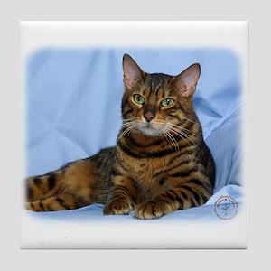 Bengal Cat 9W052D-018 Tile Coaster