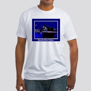Danube River Cruise Fitted T-Shirt