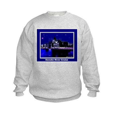Danube River Cruise Kids Sweatshirt